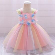 Пышные рождественские платья для маленьких девочек платье принцессы