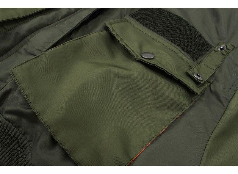 H360e6439022041ab872d8262da70b531T Artsnie Autumn 2020 Bomber Jacket Women Army Green Warm Zipper Pockets Winter Coat Female Jacket Parkas Femme Chaqueta Mujer