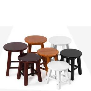 SWood Stool Living-Ro...