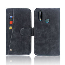 Hot! Oukitel C17 Pro Case 6.35 High quality flip leather phone bag cover For with Front slide card slot