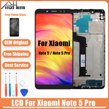 цены на AAAA Quality LCD For Xiaomi Redmi Note 5 Pro LCD Display Screen Digitizer Assembly Replacement LCD For Redmi Note 5 Screen  в интернет-магазинах