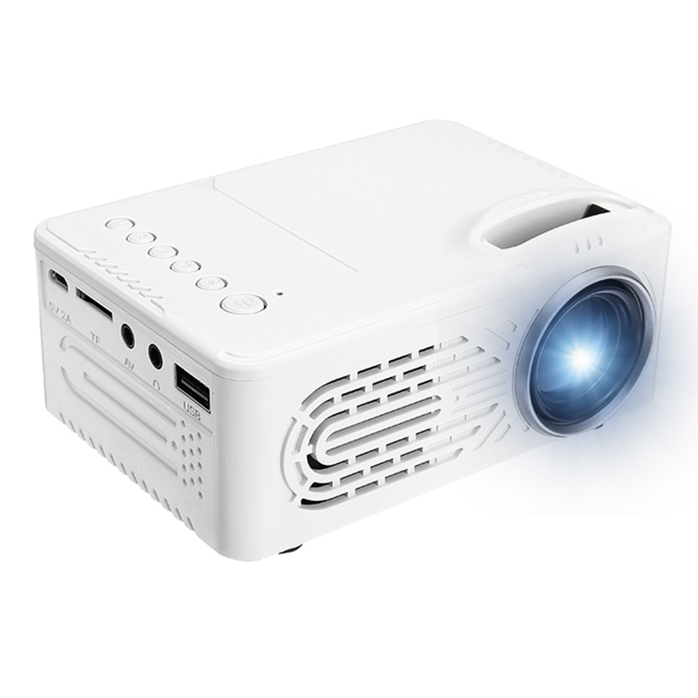 1080P HD Projector RD-814 Portable 220V EU Plug USB LED Projector Beamer Systems Media Player Cinema Theater HDMI VGA TV 3D