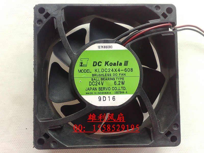 Бесплатная доставка. KLDC24X4 608 24V 6 2 W 9 см 9232 вентилятор преобразования частоты -
