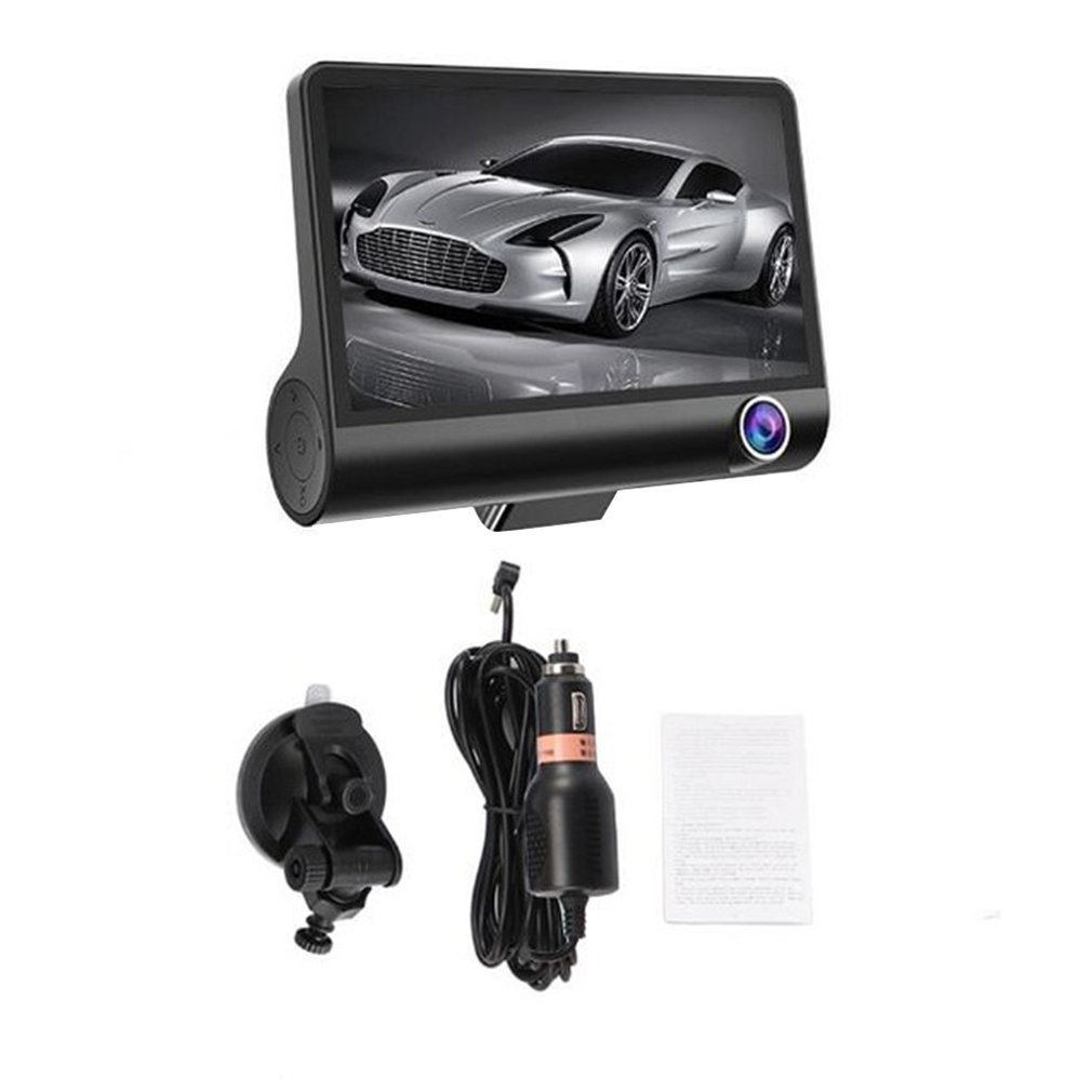 Wide Shooting Angle  Video Recording 4 Inch Camera Car Dvr Recorder Essential for Car Driving