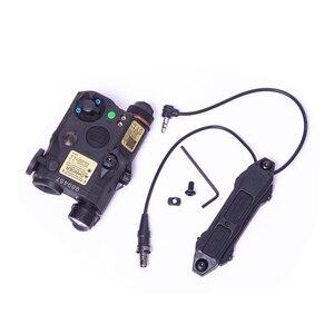 Image 5 - NEW Tactical Airsoft  Flashlight PEQ Green Laser LA 5C UHP IR Laser LED IR Laser LA5 softair tactical peq light Strobe