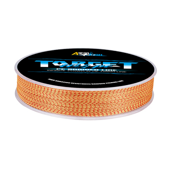 Super 100M 300M 4 Strands fishing line braided mix Fishing Lines cb5feb1b7314637725a2e7: Red and White|Red and Yellow