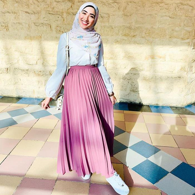 Musulman plissé Abaya mode Jupe musulmane Jupe Musulman vêtements femmes Jupe longue pour Musulman
