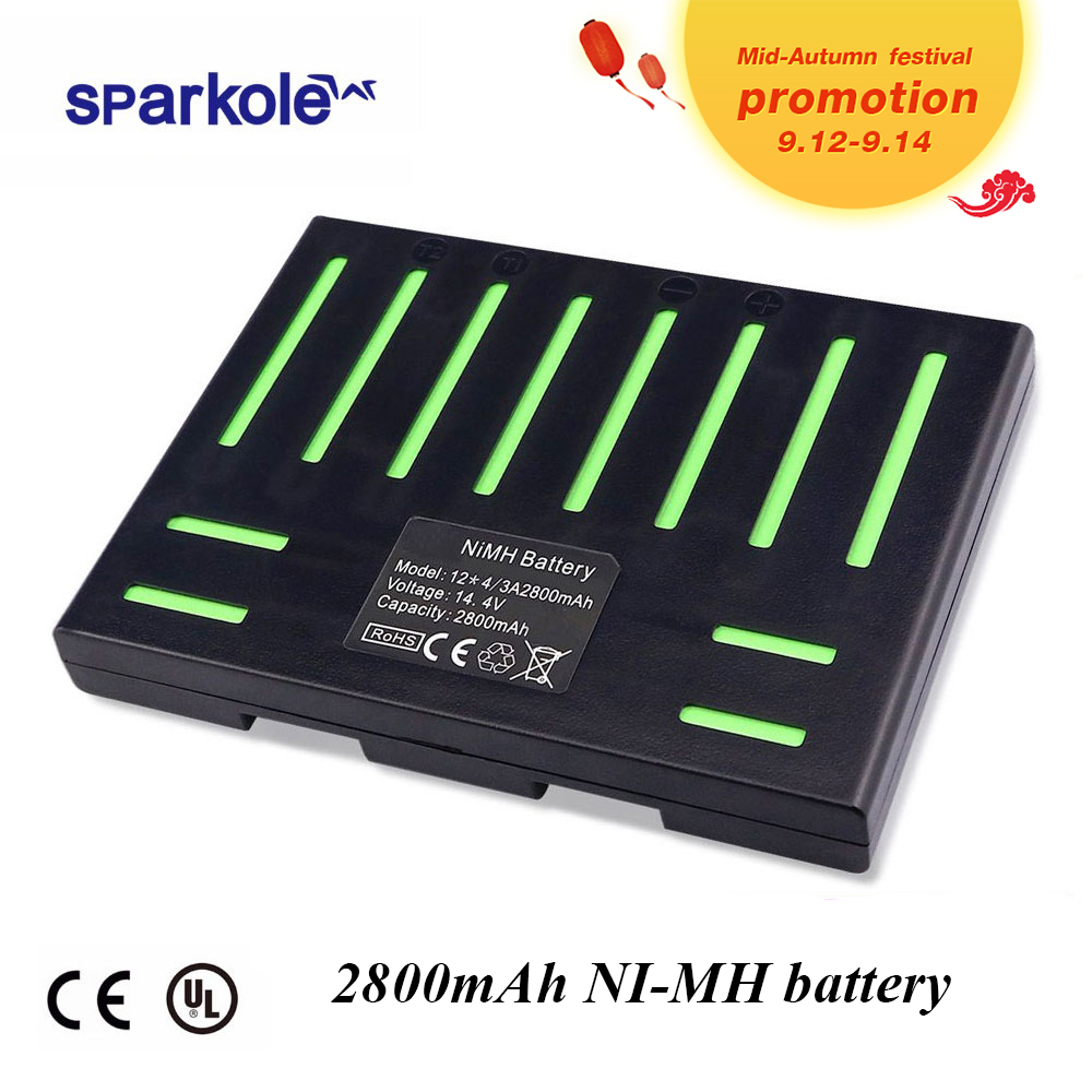 (Para QQ5) QQ5 Sparkole 14.4V 2800mAh Nimh para Cleanmate Vácuo Robô de Limpeza (CE & UL aprovado)