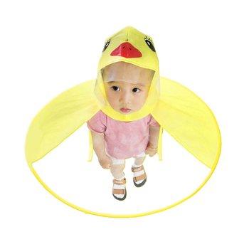 Dziecięcy płaszcz przeciwdeszczowy przezroczysty UFO płaszcze przeciwdeszczowe bezprzewodowy deszcz dziecko zabawny kaczka płaszcz przeciwdeszczowy pokrowiec przeciwdeszczowy trwały pokrowiec przeciwdeszczowy namiot dla dzieci tanie i dobre opinie OCDAY Other CN (pochodzenie) 2-4 lat 5-7 lat Plastikowe drewniane play house Children s Raincoat Składany approx 500*500*10MM