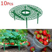 Strawberry Stand Frame Holder Plastic 10 PCS Balcony Planting Rack Fruit Support Plant Climbing Vine Pillar Gardening Stand