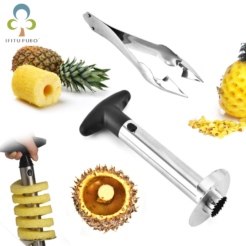 Pineapple Peeler and Corer Slicer cutter stainless kitchen Tool