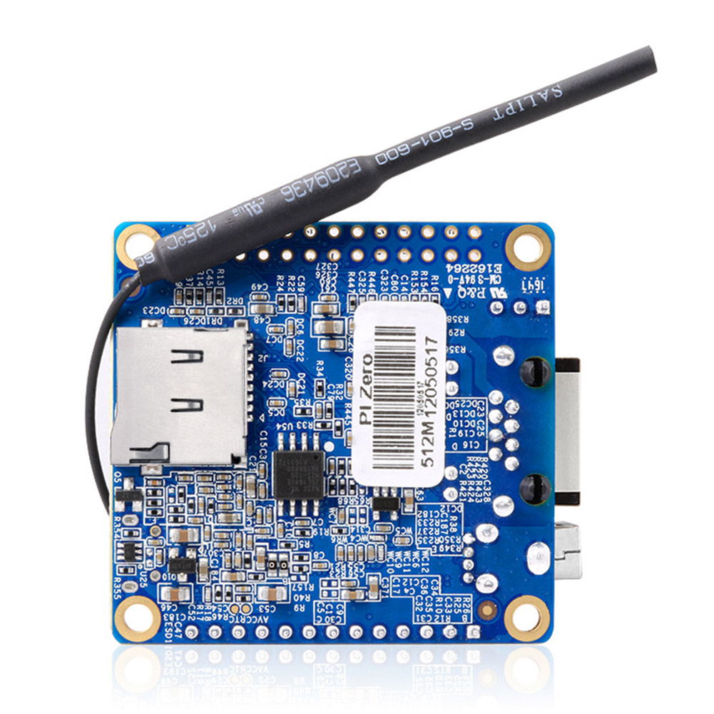 Оранжевый Pi Zero H2 макетная плата с WiFi антенной Мини офис четырехъядерный инструмент Высокая производительность с открытым исходным кодом для Raspberry Pi