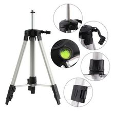 Laser Level Tripod Adjustable Height Thicken Aluminum Tripod Stand for Self Leveling 1.2/1.5m with Storage Bag