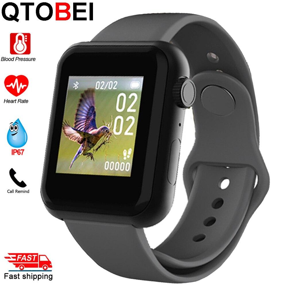 Smart Watch Waterproof Blood Pressure Monitor Smartwatch Men Women Heart Rate Fitness Tracker Watch Smart For Android IOS 2020
