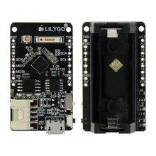 LILYGO®TTGO T OI ESP8266 رقاقة قابلة للشحن 16340 حامل بطارية متوافق مع لوحة تطوير D1 صغيرة