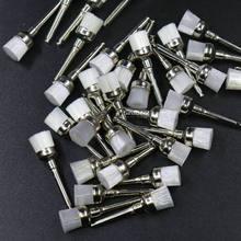 100 шт зубные нейлоновое полировочное кисти миска Форма зубной