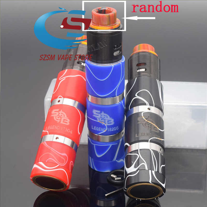 sob mod kit 18650 battery Vaporizer Mechanical vape electronic cigarette Kit vs Avidlyfe Mod  Kennedy Vindicator 25 mod