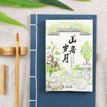 Postcard Greeting-Card Birthday-Gift-Card Ancient Courtyard DIY Life-Series 30-Sheets/Set