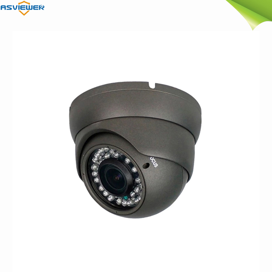 Analog Cctv Camera 1080p TVI/AHD/CVI/CVBS Security Dome Camera 2.8mm-12mm Manual Focus/zoom Varifocal Night Vision AS-MHD2301R4