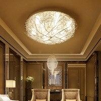 Modern tavan ışıkları LED aydınlatma ev armatürleri oturma odası lambaları kuş yuvası armatürleri çocuk yatak odası tavan aydınlatma