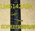 10 шт. LM6142 LM6142AIM LM6142BIM SOP-8