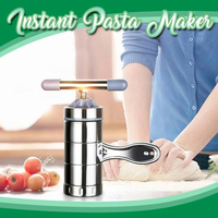Instant Pasta Maker Stainless Steel Manual Noodle Maker Press Pasta Machine Kitchenware DTT88|Kitchen Gadget Sets|Home & Garden -