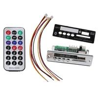 Bluetooth płyta dekodera Mp3 odtwarzacz dekodowania moduł obsługa radia fm Usb Tf Lcd z tworzywa sztucznego Mp3 płytka dekodera wma w Układy scalone wzmacniaczy operacyjnych od Elektronika użytkowa na