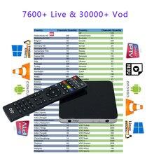 Newest Tvip 605 Quad Core 1GB/8GB Linux Smart TV Box Support