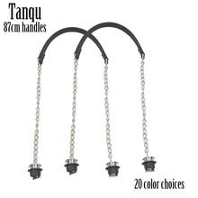 חדש TANQU 1 זוג Obag כסף ארוך יחיד עבה שרשרת עם מתכת ציפוי בורג עבור O תיק ידית נשים תיק כתף תיק