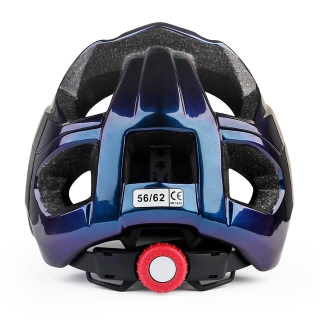 Batfox novo mtb bicicleta capacete com segurança tampa ultra-leve mountain road ciclismo esportes ao ar livre equitação capacetes de proteção 6