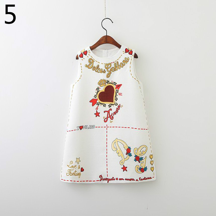 143-11-Girls Flower Princess Sundress