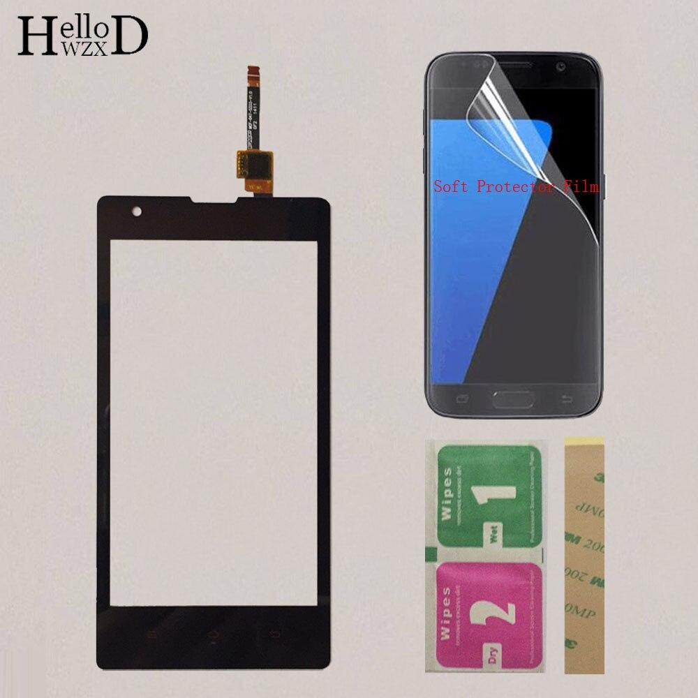 4.7'' Mobile Touch Screen For Xiaomi Redmi 1S Hongmi 1S 1 S Front Glass Touchscreen Panel Lens Sensor  Protector Film