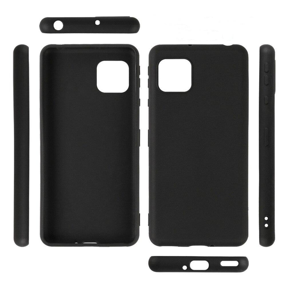 Black Drop Resistance Protective Case For Sharp Aquos Sense4 4G/Sense 5G/Sense4 Lite Anti-scratch Waterproof Matte Case Cover