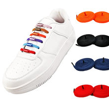 Эластичные шнурки для обуви повседневные мужчин и женщин без