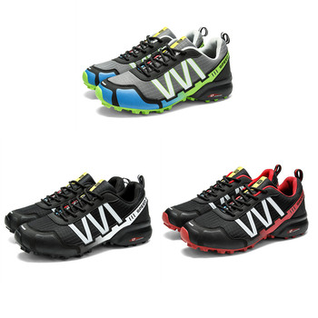 SMS Men Outdoor Hiking Shoes Climbing Sport Breathable Sneakers Tactical Hunting Trekking Shoes Summer Mesh Anti-skid Trainers 6