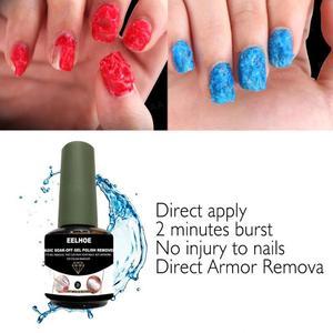 15ml Healthy Fast Nail Remover Gel Magic Burst Polish Remover Gel Soak Off UV Gel Nail Cleaner Zero Damage Nail Polish Remover