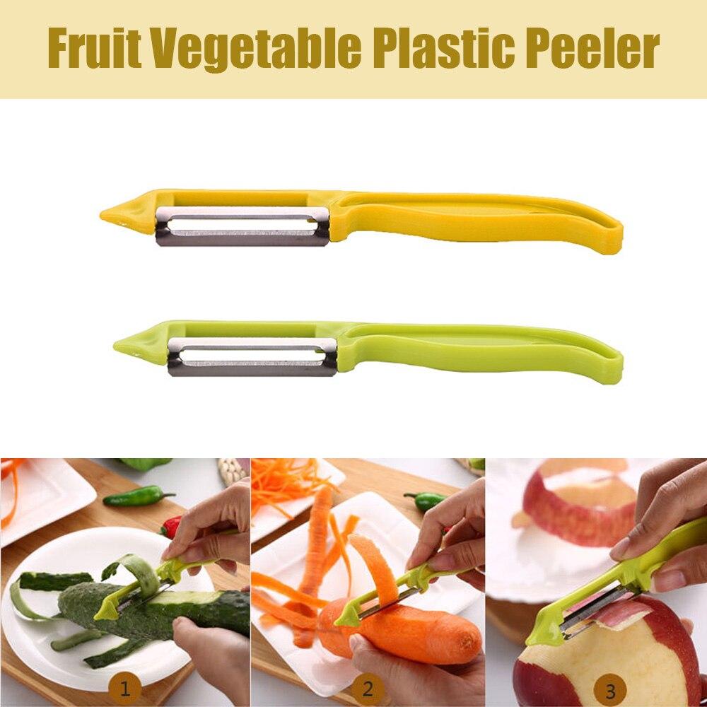 Fruit Vegetable Peeler Zesters Knife Carrot Potato Peelers Cutter Slicer Household Plastic Peeling Kitchen Tool Gadget