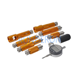 Image 2 - CRI Diesel Service Workshop Common Rail Fuel Injectors Armature Stroke Space Gap Measurement Repair Tools Kit for Bosch Denso