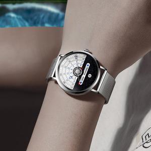 Image 4 - Original moda dom relógio masculino relógios de quartzo masculino à prova dwaterproof água relógio de pulso de luxo dos homens ouro M 1288GK 9M