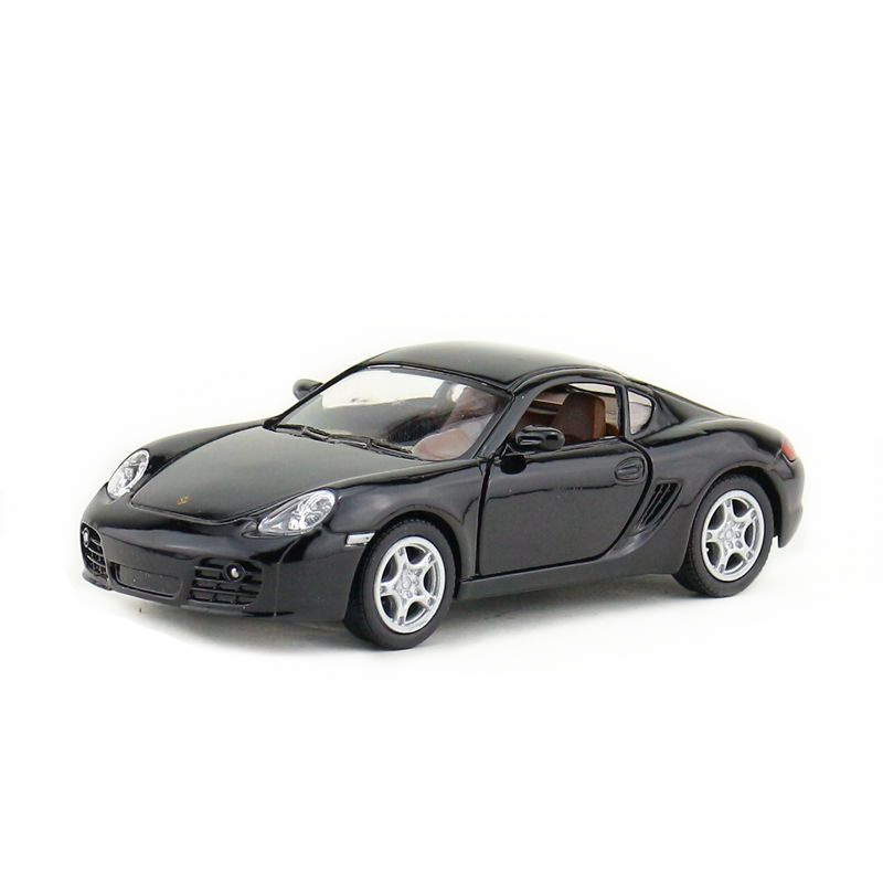 KINSMART DieCast Metal Model/1:34 Scale/Cayman S Super Sport Racing Toy/Pull Back Car/Educational Collection/Gift For Children