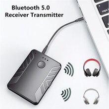 KEBIDU – transmetteur récepteur Audio Bluetooth 5.0, pour TV, PC, voiture, haut-parleur, musique stéréo, adaptateur sans fil, double émetteur