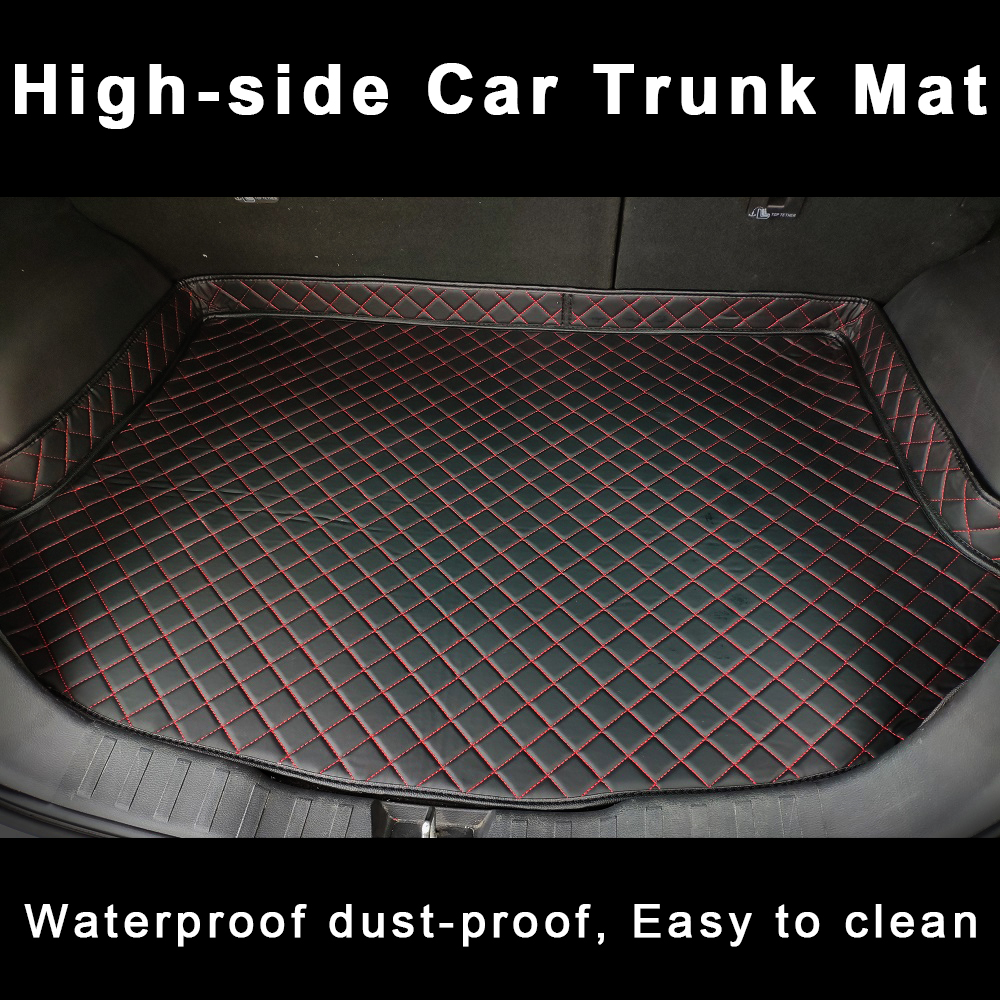 Car Trunk Cargo Liner For Audi Q7 4l Accessories Carpets Styling