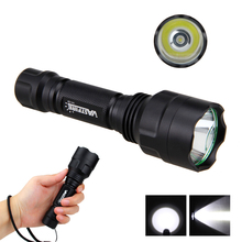Light-Flashlight Torch-Light Tactical Scope-Mount Pressure-Switch LED Hunting White