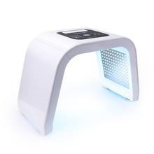 7 สี LED Photon Light Therapy PDT โคมไฟความงามเครื่อง Treatment ฟื้นฟูใบหน้ากระชับ Anti Aging สิว remover