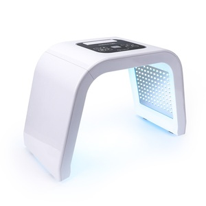 Image 1 - 7 couleur LED Photon Facial luminothérapie PDT lampe beauté peau Machine traitement régénération visage serrer Anti âge acné dissolvant