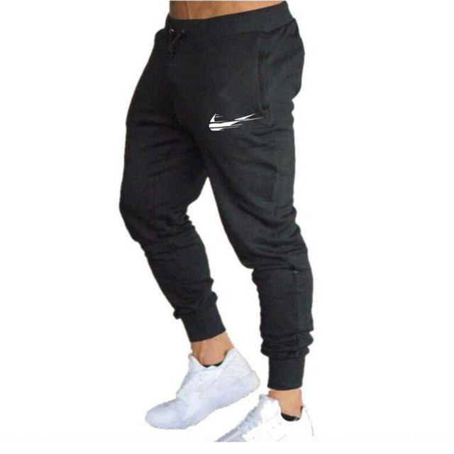 Brand 2021 Summer Men's Jogging Pants Fashion Training Casual Sports Pants Men's Running Pants Gym Muscle Fitness Stretch Pants 4