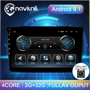 10.1'' IPS SCREEN Universal Car Radio 2 din Android 9.1 autoradio GPS player auto stereo CAR audio rear view camera no 2din dvd
