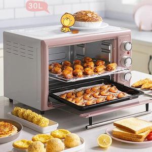 Электрическая духовка Bear для домашней выпечки, полностью автоматическая многофункциональная электрическая печь большой вместимости 30 лит...