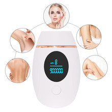 Depilatory Laser Mini Laser Epilator Permanent Ipl Hair Removal Photoepilator For Women Facial Whole Body 900000/600000 Flash