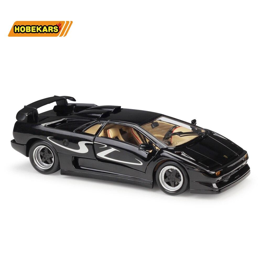 Maisto moulé sous pression modèle voiture fantôme Diablo SV 1:18 alliage métallique haute Simulation voitures avec Base garçons jouets véhicules cadeaux pour garçon hommes